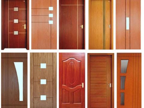 Cửa gỗ công nghiệp MDF chống cháy chất lượng cao
